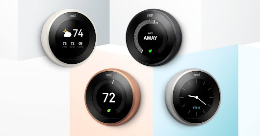Nest Thermostats :Delfera Heating and Cooling Co.