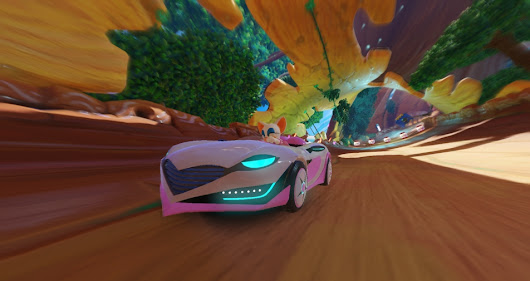 VIDEO: Listen to the music from the Sand Hill map in Team Sonic Racing