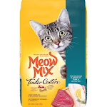 Meow Mix Tender Center (Tuna & Whitefish Flavors) - Dry Cat Food - 3lb