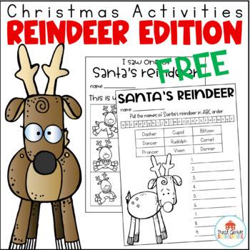 Christmas Activities Reindeer Edition