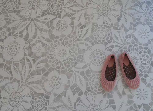 Skylar's Lace Floor