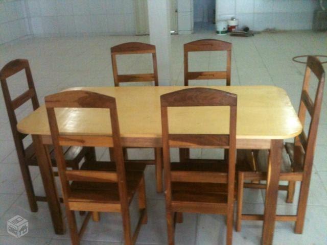 Gabinete para banheiro mesas e cadeiras de madeira para for Mesas para restaurante usadas