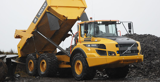 A&L McCrae has chosen a brace of Volvo A30G haulers for the first time