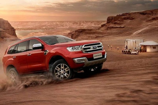 2018 Ford Endeavour - Review, Release date, Review, Features | Price