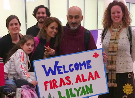 Canada opens its hearts to Syrian refugees