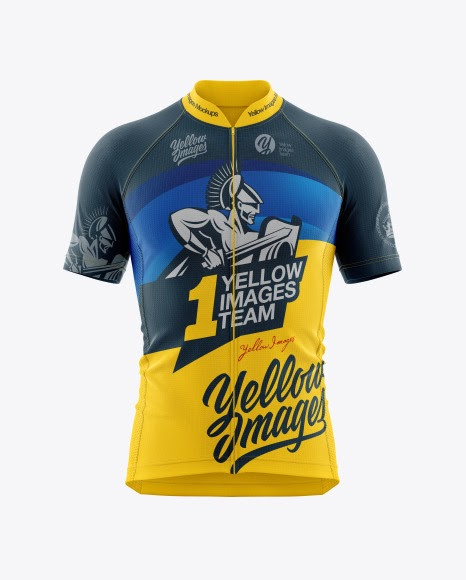 Download Free Men's Cycling Jersey Mockup (PSD) - Download Free Men ...