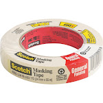 "3M Paint Mask Tape, 1"" x 60 yrd"