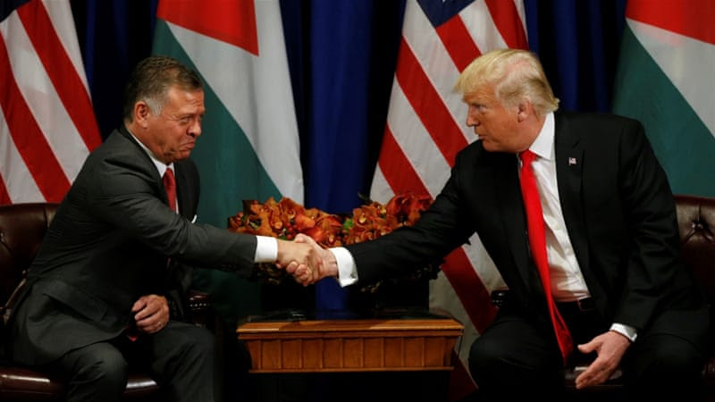 Abdullah has maintained good relations with the US [Kevin Lamarque/Reuters]