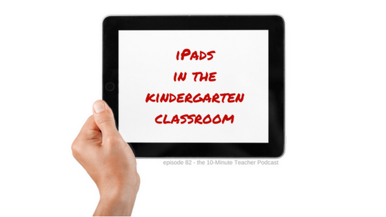 ipads in the kindergarten classroom (1)