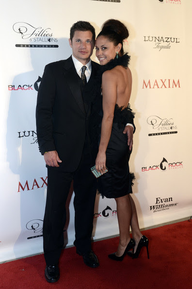Nick Lachey Nick Lachey and Vanessa Minnillo attend the Fillies & Stallions Derby 2011 party presented by Maxim at Mellwood Arts & Entertainment Center on May 6, 2011 in Louisville, Kentucky.