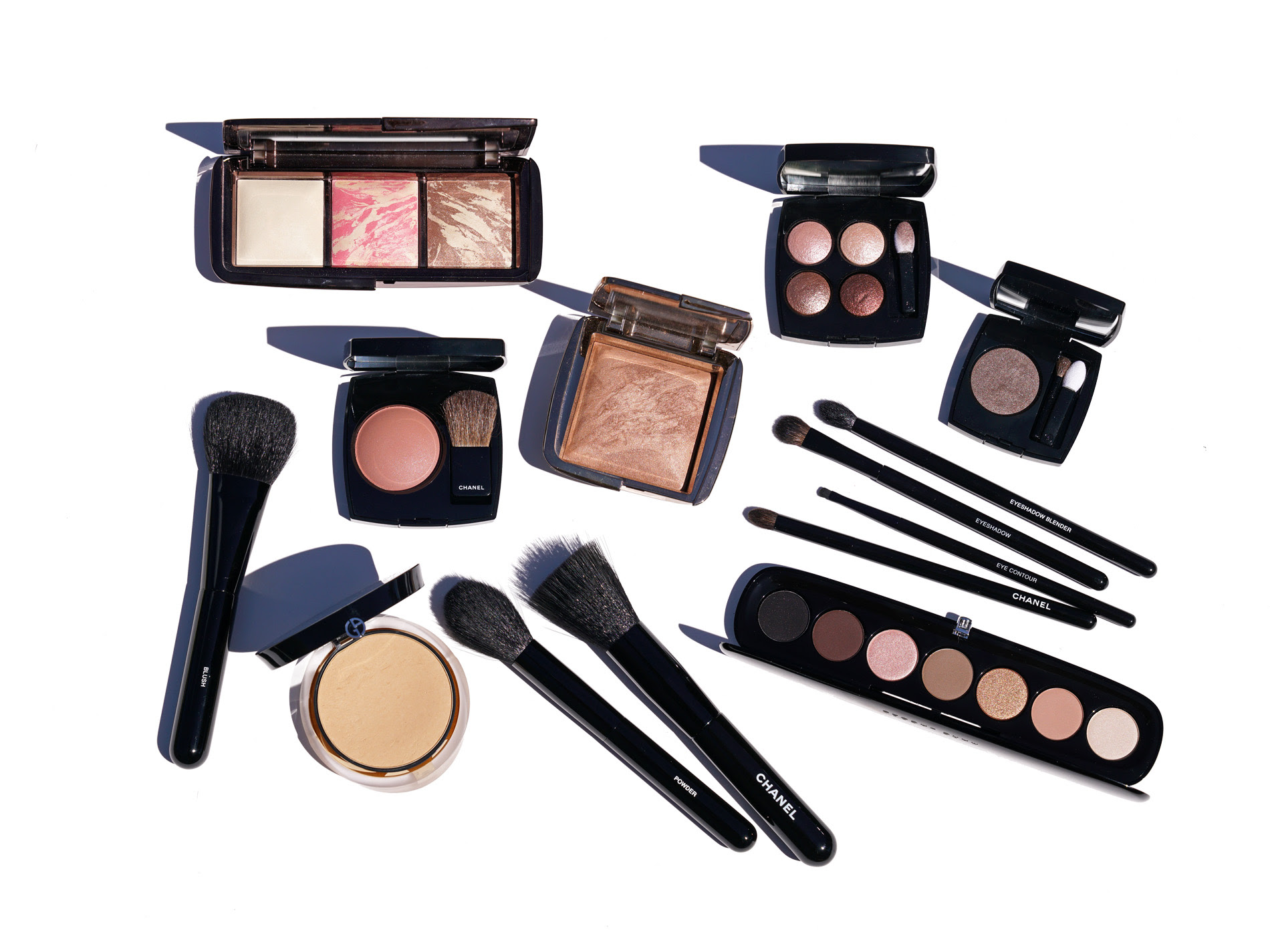 Chanel Makeup Brushes - New Design   The Beauty Look Book