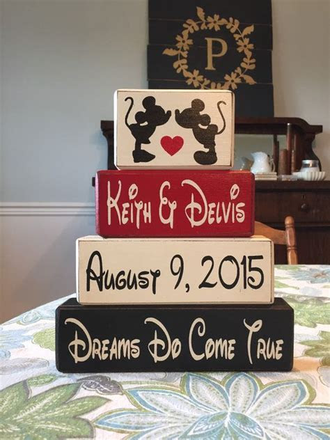 mickey  minnie wedding gift anniversary gift