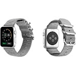 Aduro Nylon Buckle Band for Apple Watch Series 1, 2, 3, & 4 42/44 / Grey