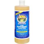 Dr. Woods Pure Castile Soap, Peppermint - 32 fl oz bottle