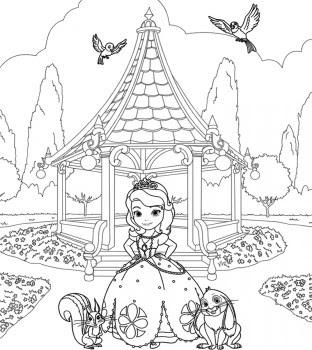 El Club Ver Tema Dibujos Para Colorear De La Princesa Sofia