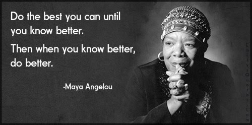 Rules for a Successful Writing Life from Maya Angelou