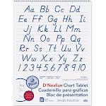 D Nealian Chart Tablet Manuscript - Pacon