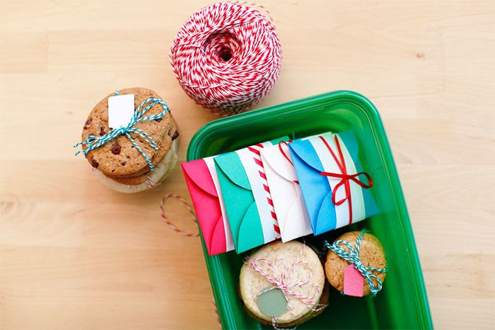 Homemade Cookie Pouches| Ziploc® brand Holiday Collection