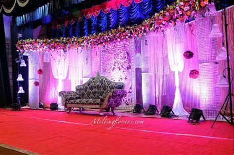 Purplish Wedding Backdrop Embellishment Styles   Wedding