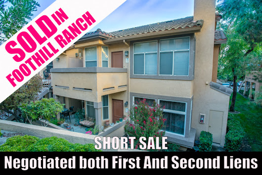 Short Sale SOLD in Foothill Ranch | OC Specialist RE Agent