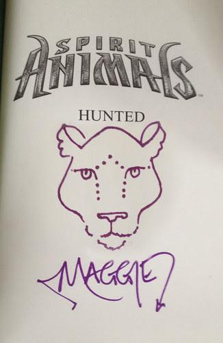 sketch for Spirit Animals