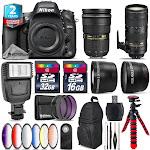 Nikon D610 DSLR + AFS 24-70mm 2.8G + 70-200mm 2.8E VR + Slave Flash - 48GB Kit