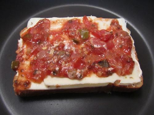 Bread, Sriracha-Mayo, Pepper Jack, Salsa ...