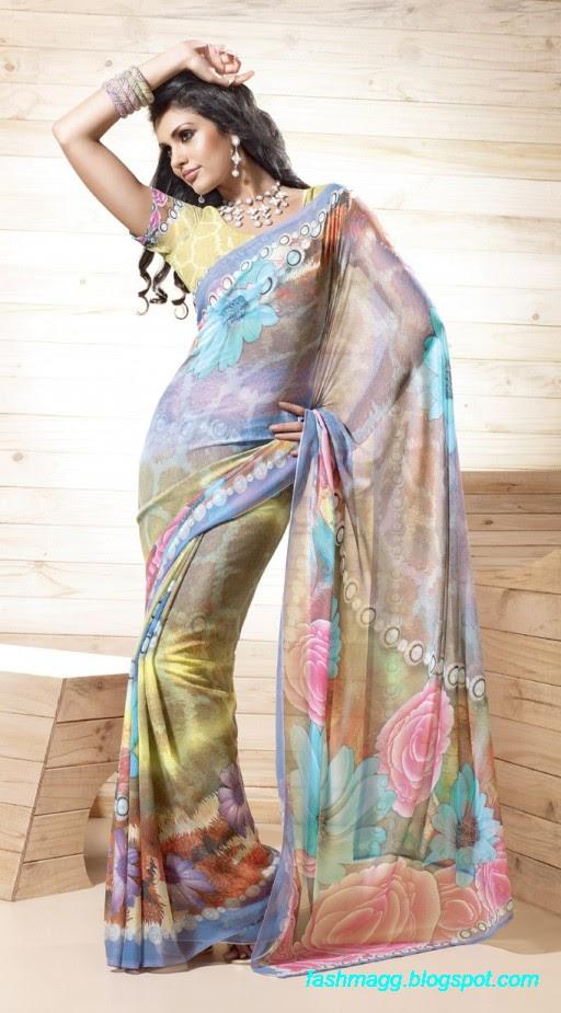 Printed-Saree-Indian-Pakistani-Beautiful-New-Fashionable-Sari-Collection-2013-9