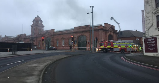 What we know so far about the large fire at Nottingham Station