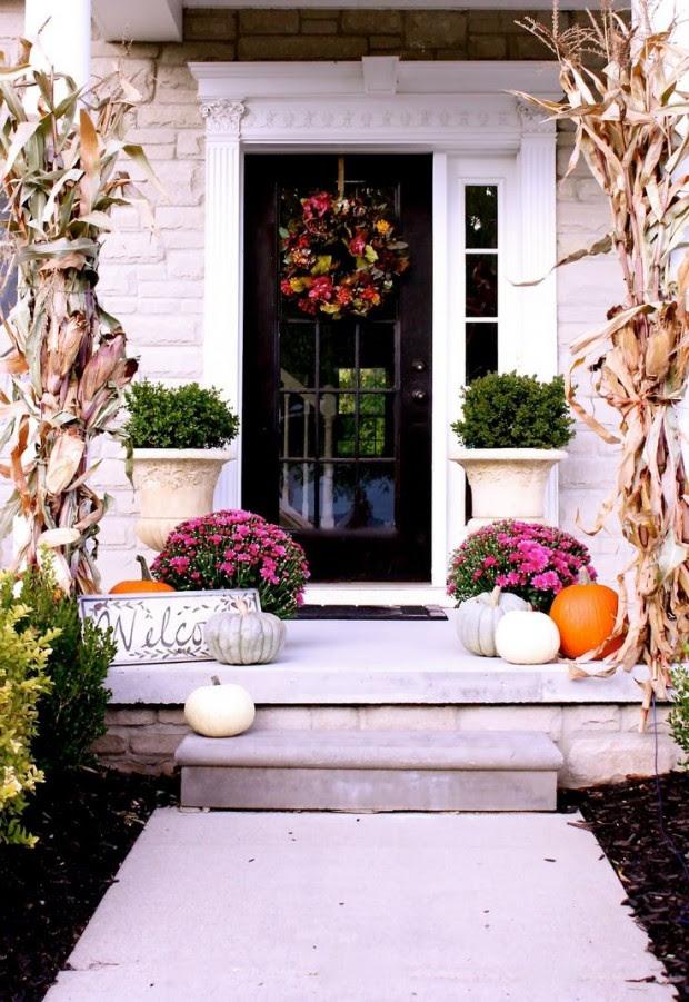 Fall Front Porch Decorating Ideas - Satori Design for Living