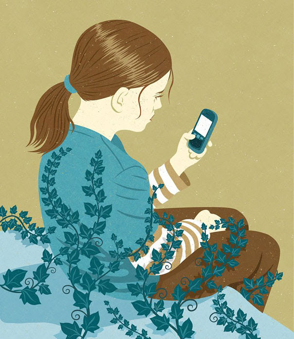 AD-Satirical-Illustrations-Show-Our-Addiction-To-Technology-49