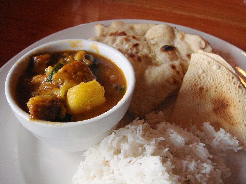 Eggplant Potato Curry