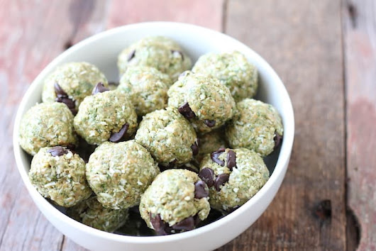 No-Bake Green Power Bites Recipe | The Frugal Farm Wife