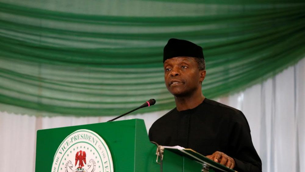 FG, AfDB Cooperate to Reduce Poverty, Create Jobs and Overcome Fallouts of Insurgency - VP Osinbajo