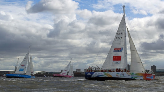 Female skipper Wendy Tuck makes history as first woman to win Clipper Round The World yacht race