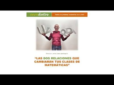 VÍDEO 2 - LAS DOS RELACIONES: La de suma-resta y la de multiplicación-división