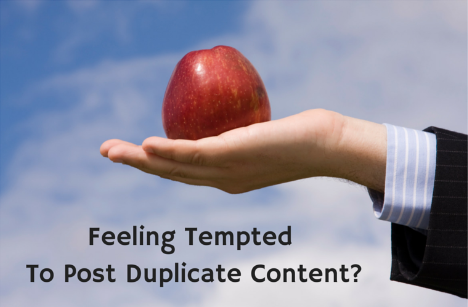 How to Safely Post Duplicate Content on Multiple Blog Sites