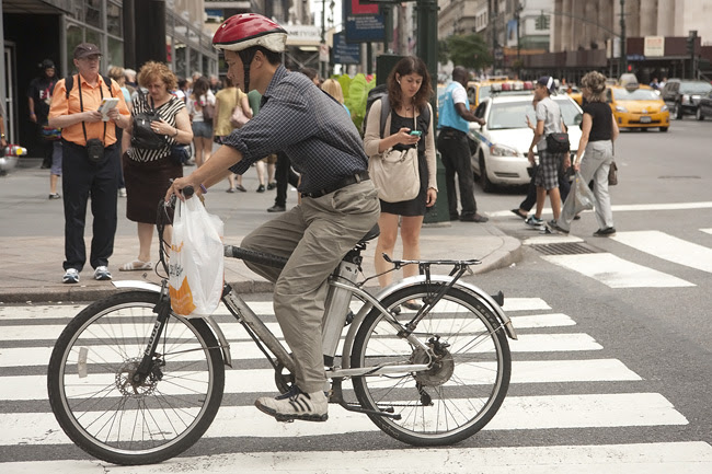 Delivery Guy, nyc