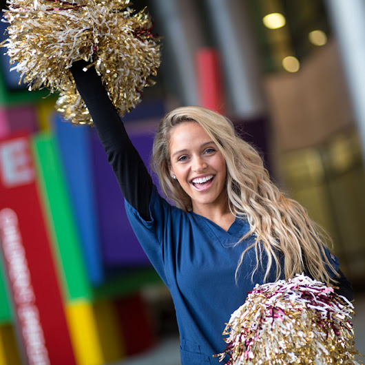 Everyday Hopkins: Heather, Redskins Cheerleader and Nurse in the Pediatric Intensive Care Unit