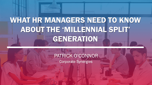 The #MillennialSplit hampers communications with this generation.