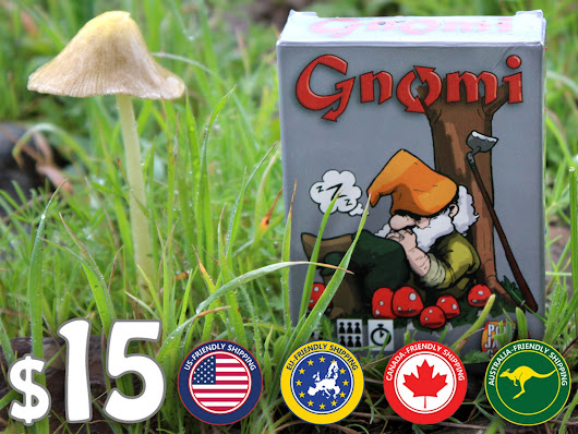 Gnomi by Poppy Jasper Games —  Kickstarter