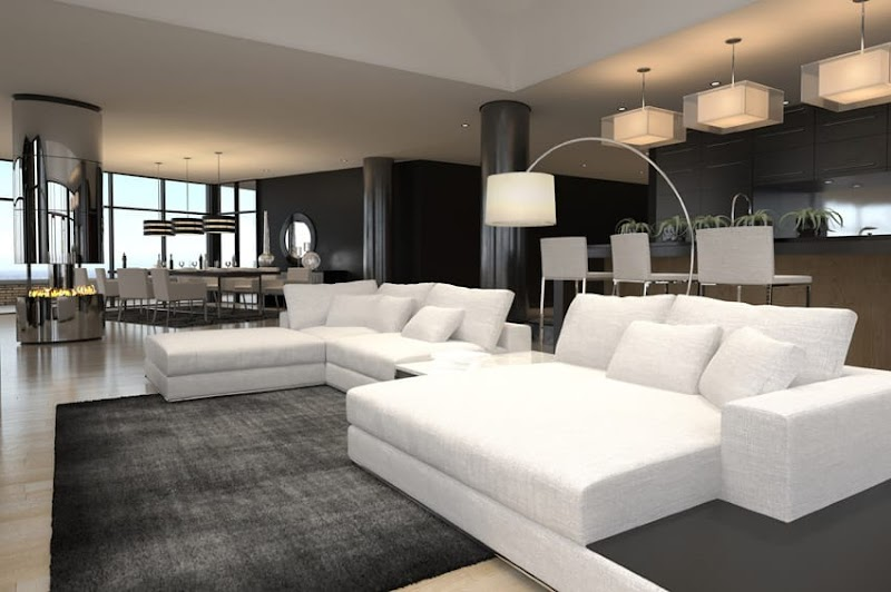 Best Of Living Room Black And White Decor Ideas images