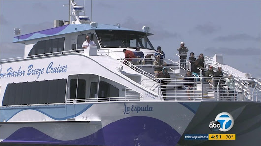 "New ""green"" whale-watching boat debuts in Long Beach 