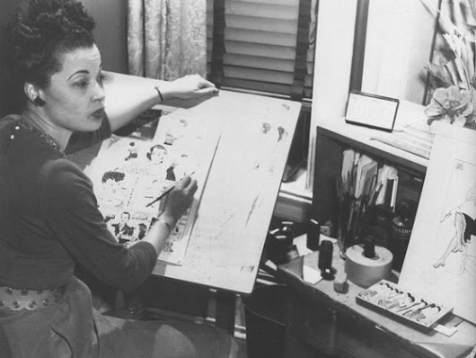 Black Then | Glamorous And Bold: The Story Of The First Black Female Cartoonist
