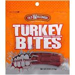 Old Wisconsin Turkey Bites Sausage - 4oz
