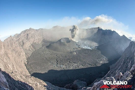 Raung volcano (East Java, Indonesia): photos August 2015