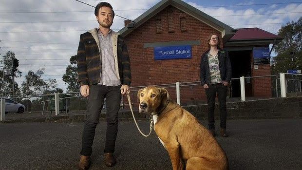 Chris Drane, his dog Poncho, and friend Tim Durkin were allegedly threatened by an armed PSO at Rushall station.