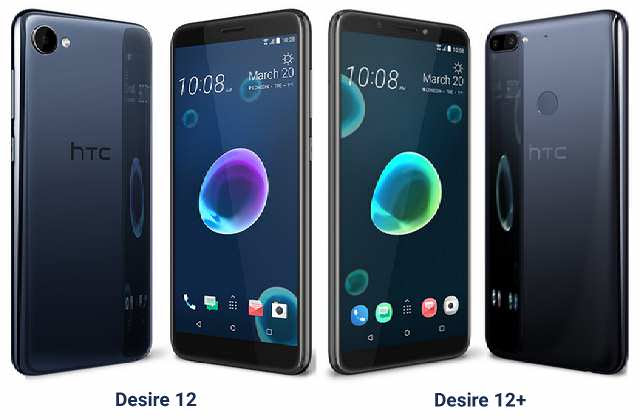 HTC Desire 12 and  Desire 12 Plus