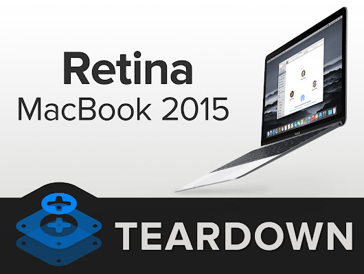 Retina Macbook 2015 Teardown - iFixit