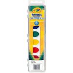 Crayola 53-0525 Washable Watercolors, 8-count